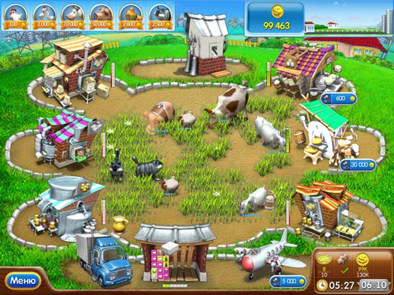 Игры для девочек веселая ферма 5